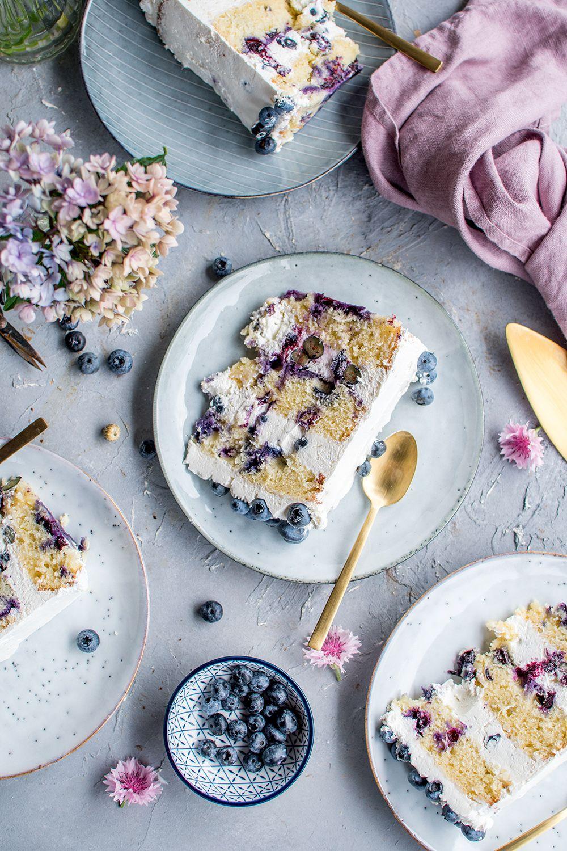 Blueberry and lemon cake: a summery birthday cake ⋆ crispy
