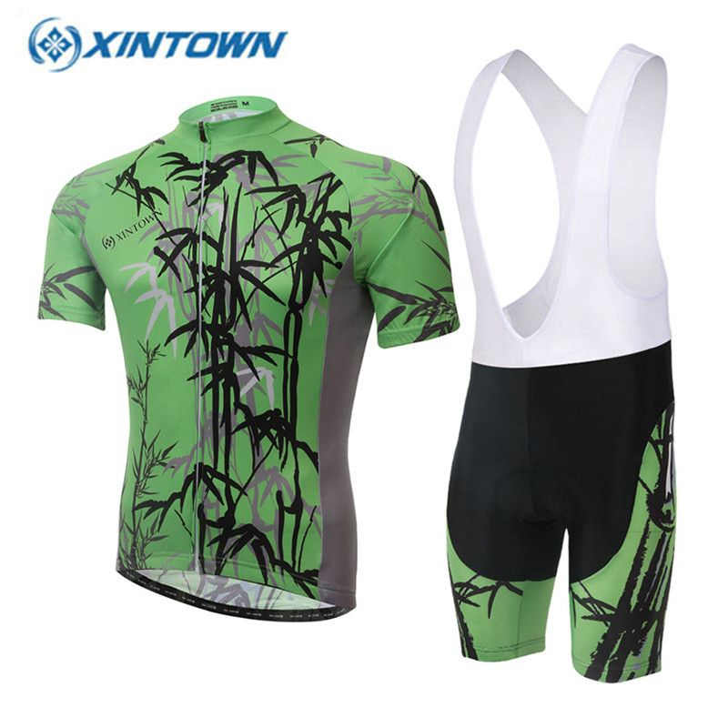 bddecf924 2017 Men s Summer Pro Cycling Jersey Set Bamboo Ropa Ciclismo Cycling Kit  Breathable Mountain Bike Clothes