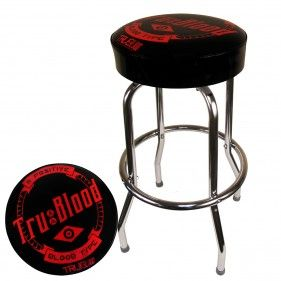 Swell Tru Blood Logo Bar Stool Commercial Grade And American Made Theyellowbook Wood Chair Design Ideas Theyellowbookinfo