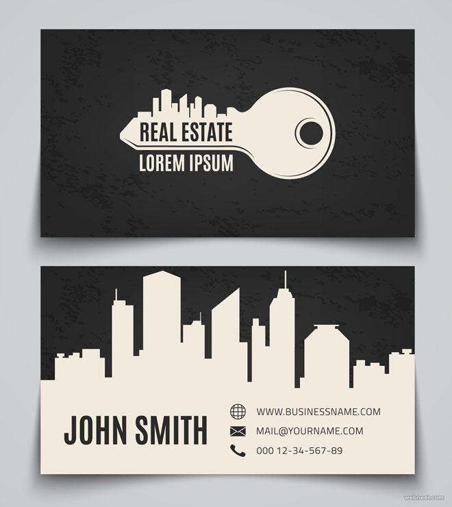 Construction Business Cards Designs