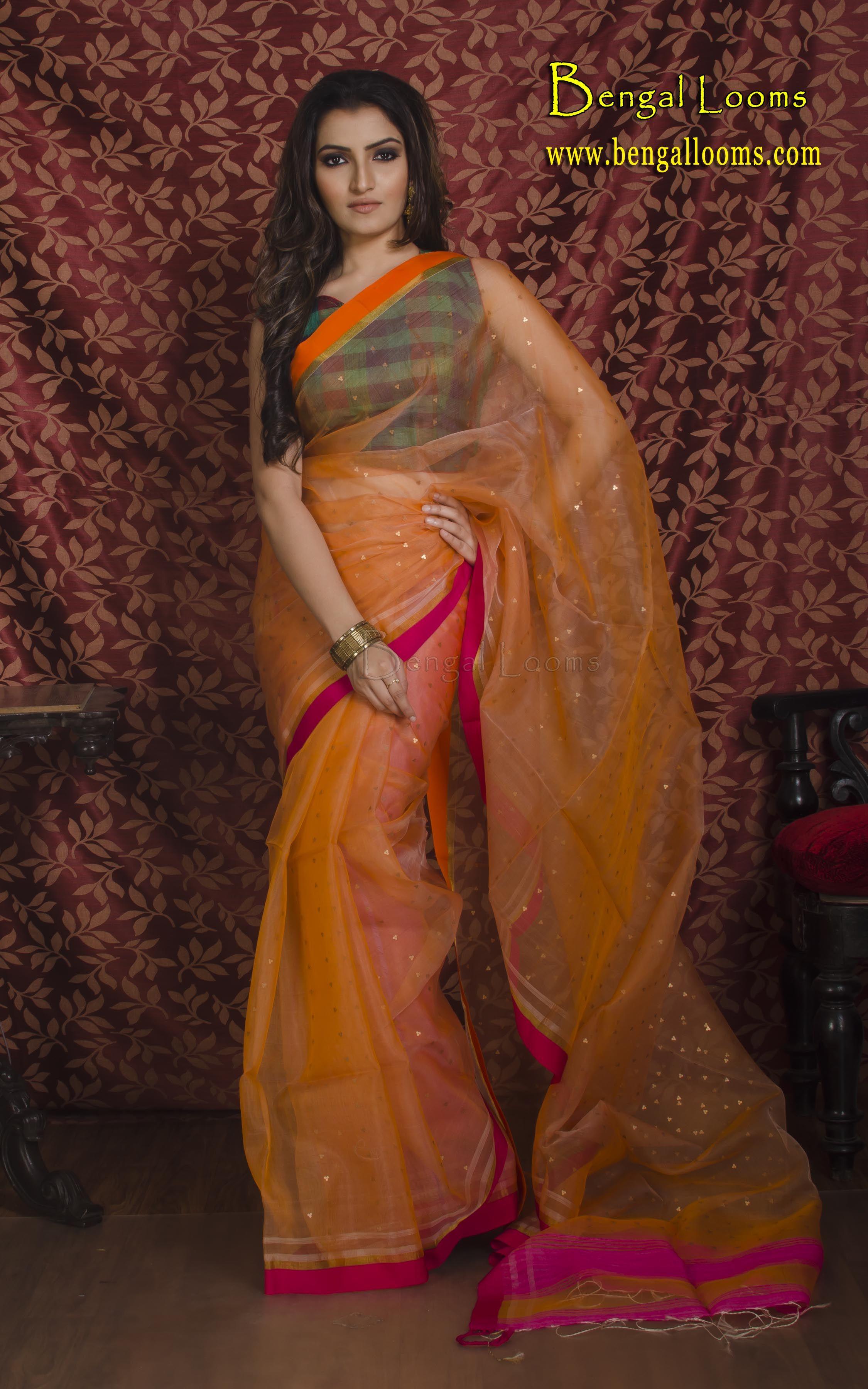 Pin by Bengal Looms on Muslin Silk Saree Saree, Indian