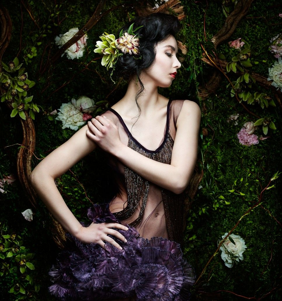 Fashion Portraits by Adrian Holmes #inspiration #photography