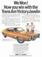 Roy Woods Javelin 1973 Ad Picture