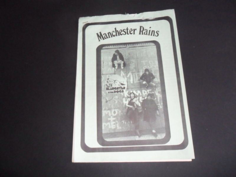 Slaughter  Dogs fanzine No 1 1977 original Punk rock fanzine Sex Pistols Clash One of THE rarest of all '77 punk 'zines..!!