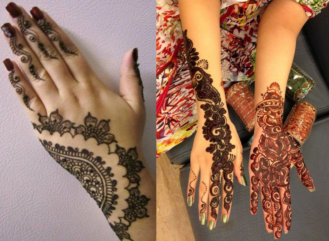Attractive mehandi designs for a lovely bride. #mehandidesign #indianmehandidesign #arabicmehandidesign