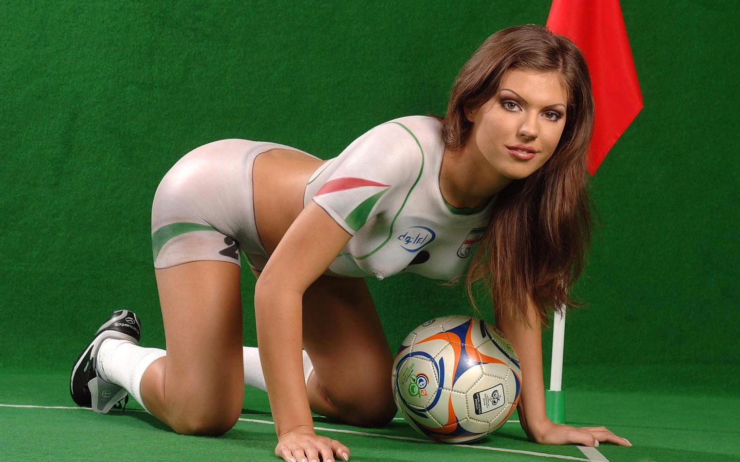 160 Photos to get you ready for the World Cup, the sexy way. - Ultimate World Cup Body Paint Gallery
