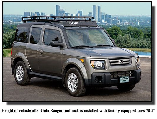 Gobi Honda Element Ranger Roof Rack Gher Honda Gobi Roof Racks Honda Element Honda Element Camping Motorcycle Camping Gear