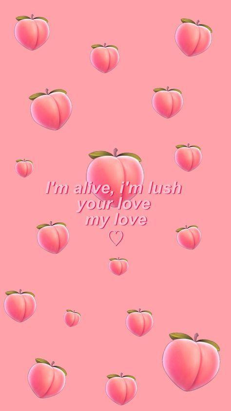 Lock Screen Iphone Pink Phone Wallpapers 22 Ideas Peach Wallpaper Emoji Wallpaper Aesthetic Iphone Wallpaper