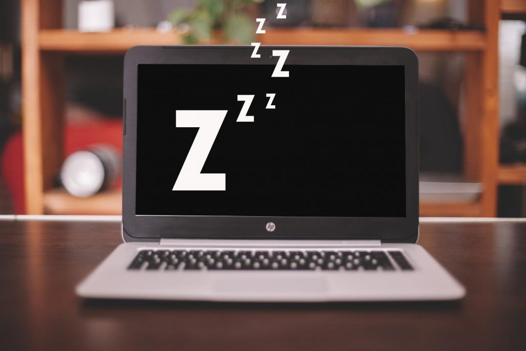 How to turn on sleep laptop with keyboard and mouse