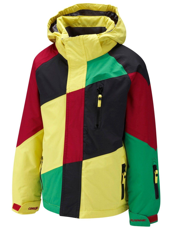 c6633a0a5855 Surfanic Yellow Space Infants Surftex Boys Ski Jacket