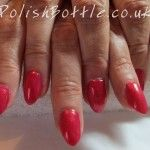 Zoya Kimber over Gelish Hard Gel Extensions for Ann