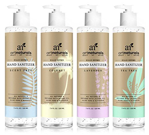 Artnaturals Natural Hand Sanitiser Gel 4 X 7 4 Fl Oz Https