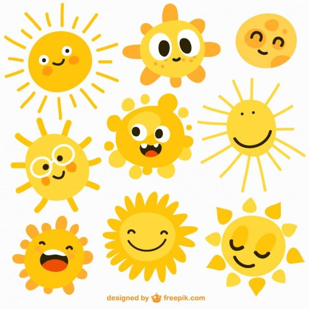 Cartoon Suns Cartoon Sun Sun Illustration Sun Drawing