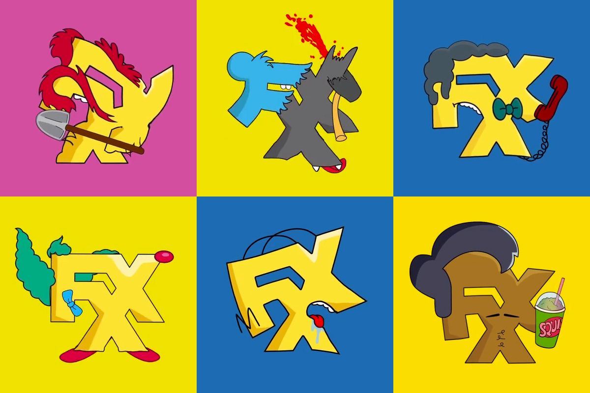 Images of Fxx Logo The Simpsons - #rock-cafe