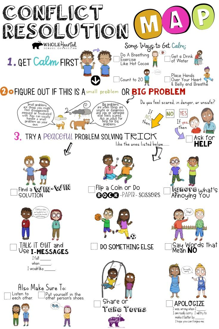 Photo of Conflict Resolution Activity: For School or  Home, Help Your Students Resolve Conflicts On Their Own