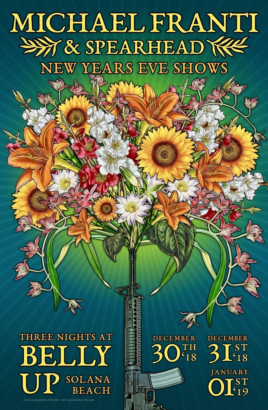 Poster art by Suzanne Meacham on Poster art Concert