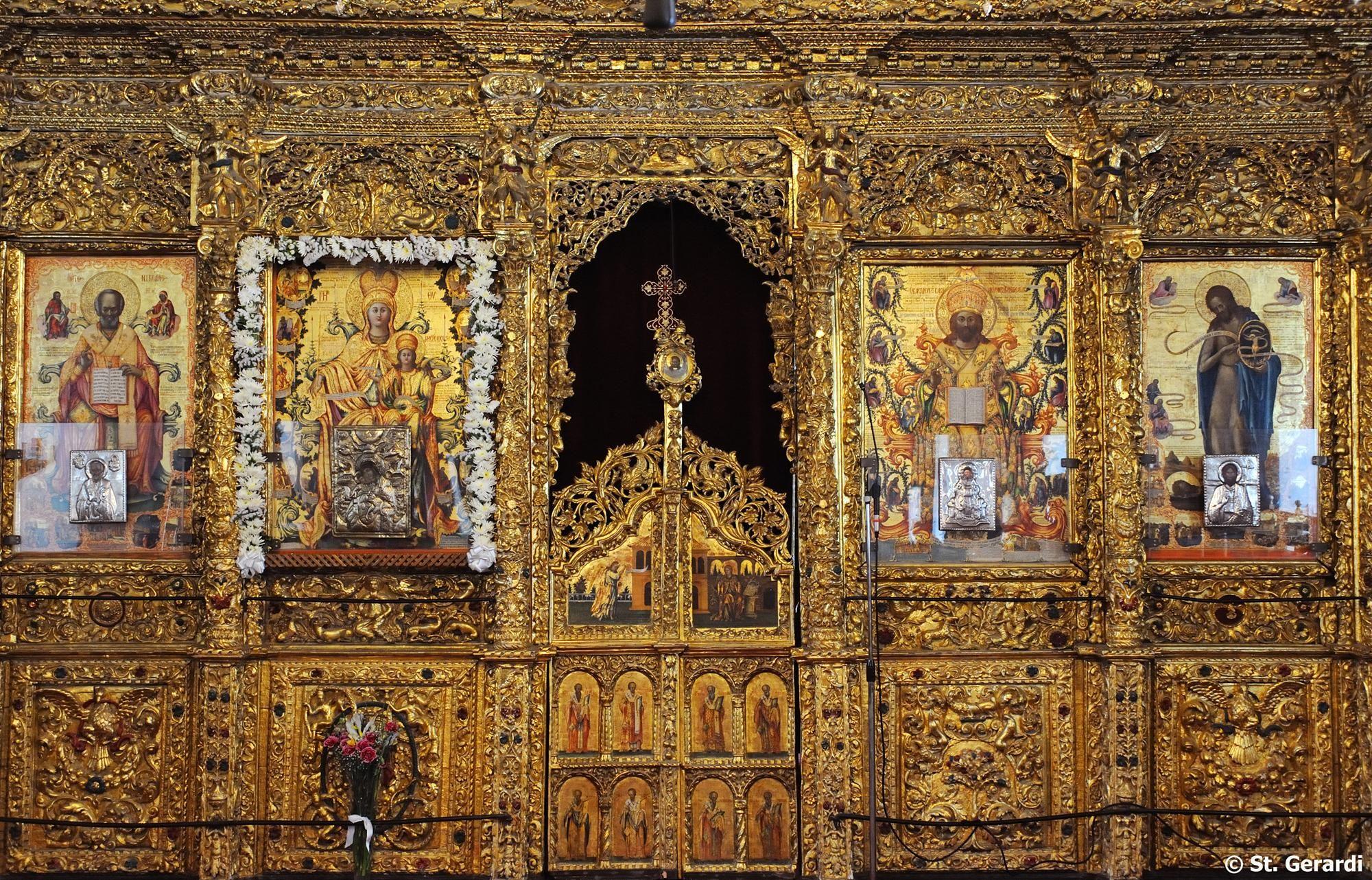 Cyprus Agios Ioannis Cathedral Iconostasi