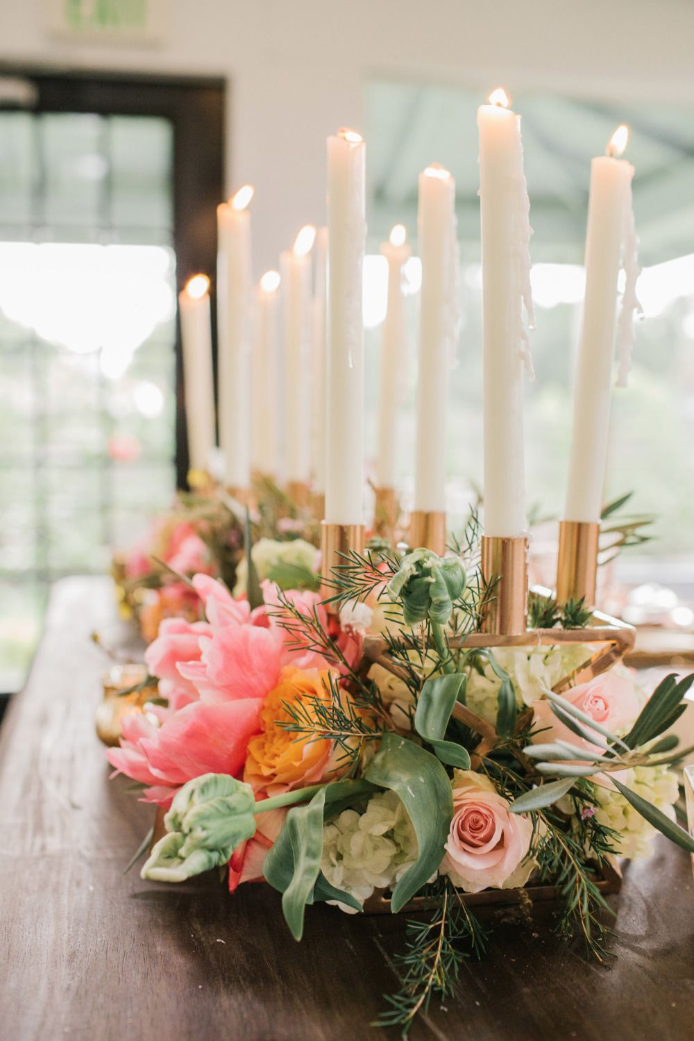 Copper And Rose Whimsical Wedding   Table Decor For Weddings ...