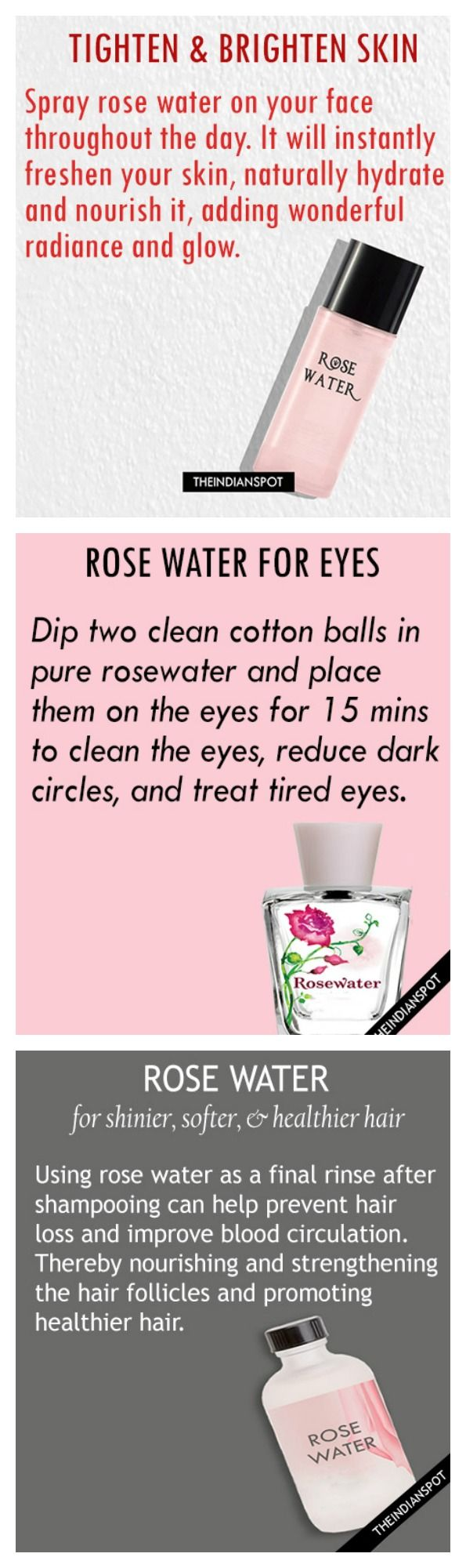 Rose water Just incorporated this in my daily beauty routine and
