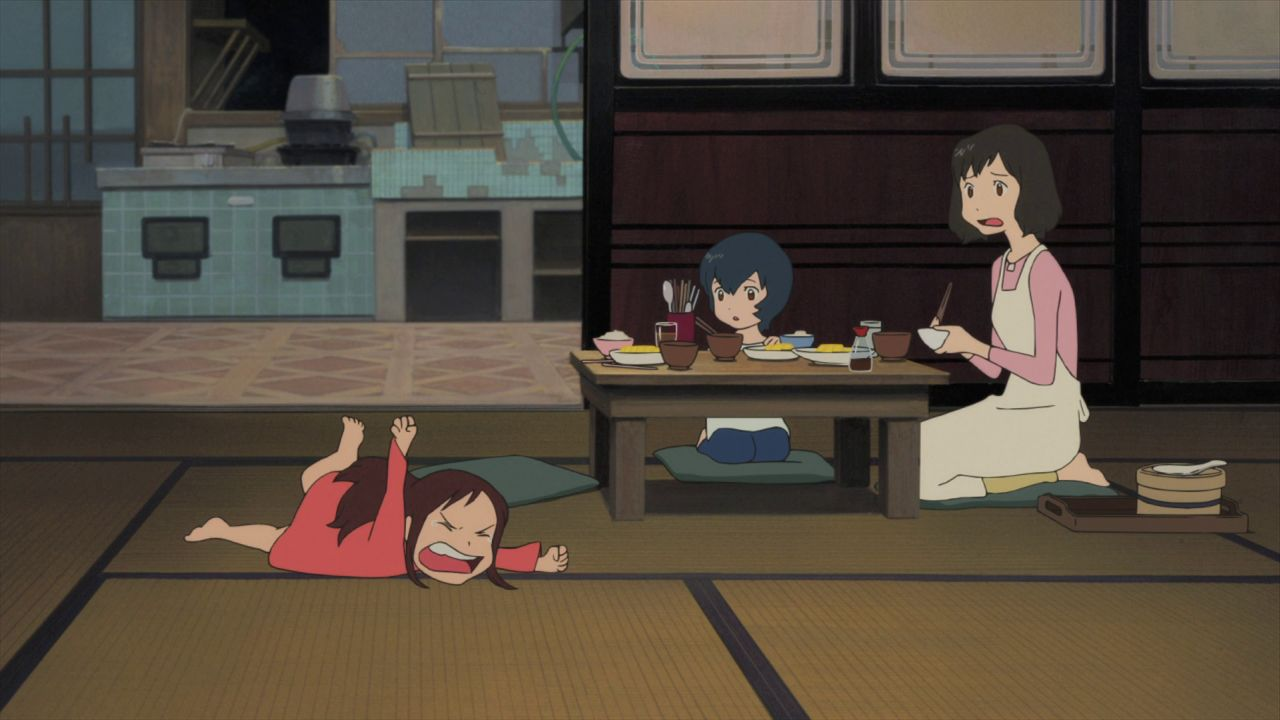 Ideia Por Asuna Em Wolf Children Hana Anime Criancas Wolf