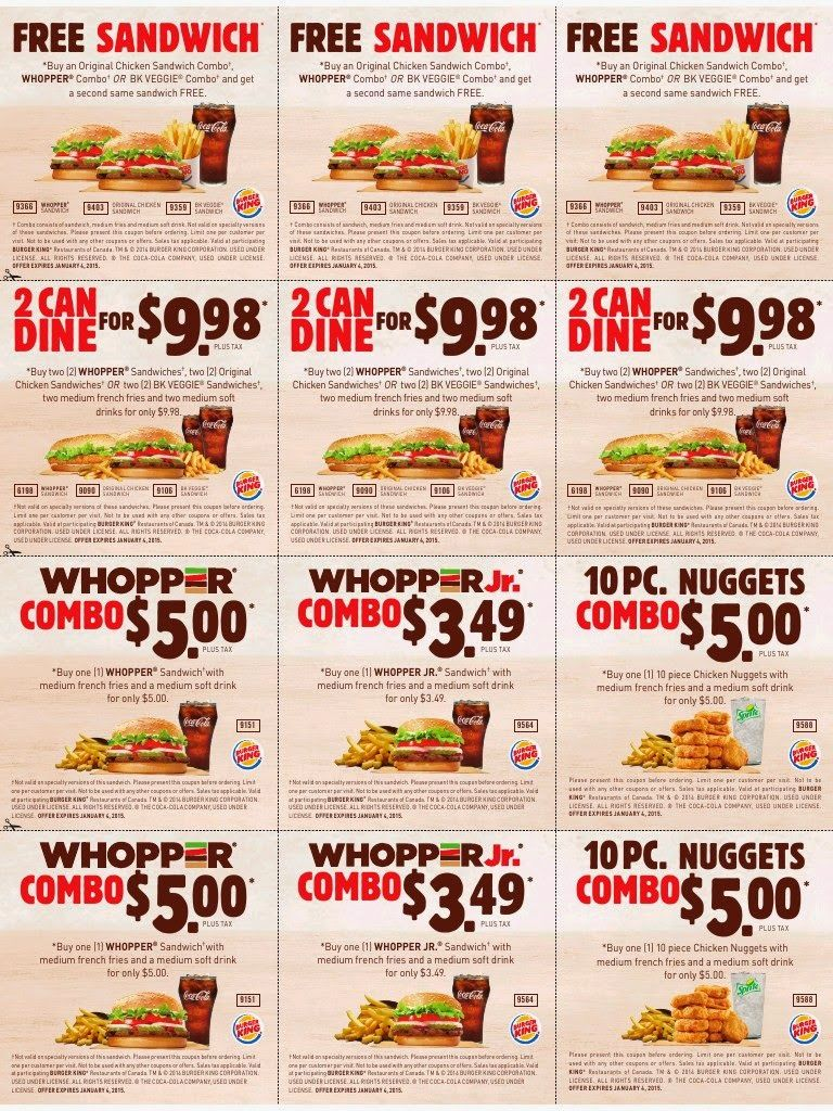 Printable Coupons Burger King Coupons Fast Food Coupons Free Printable Coupons Printable Coupons