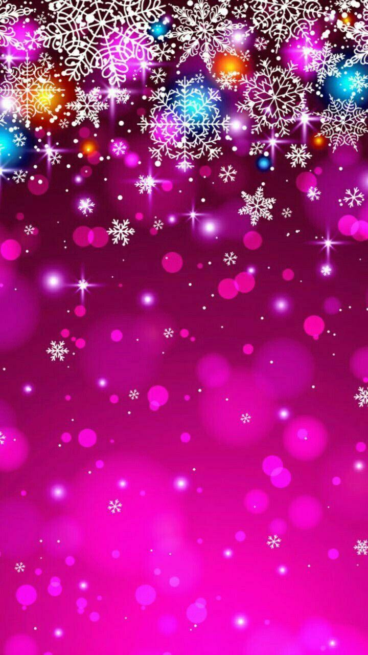 Winter Pink Wallper Wallpaper Iphone Christmas Christmas Phone Wallpaper Iphone Wallpaper Glitter