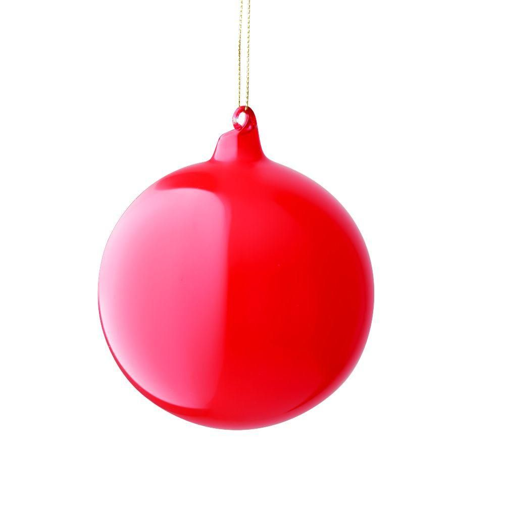 Martha Stewart Living 4 In Red Bubble Gum Ornament 9323310110 The