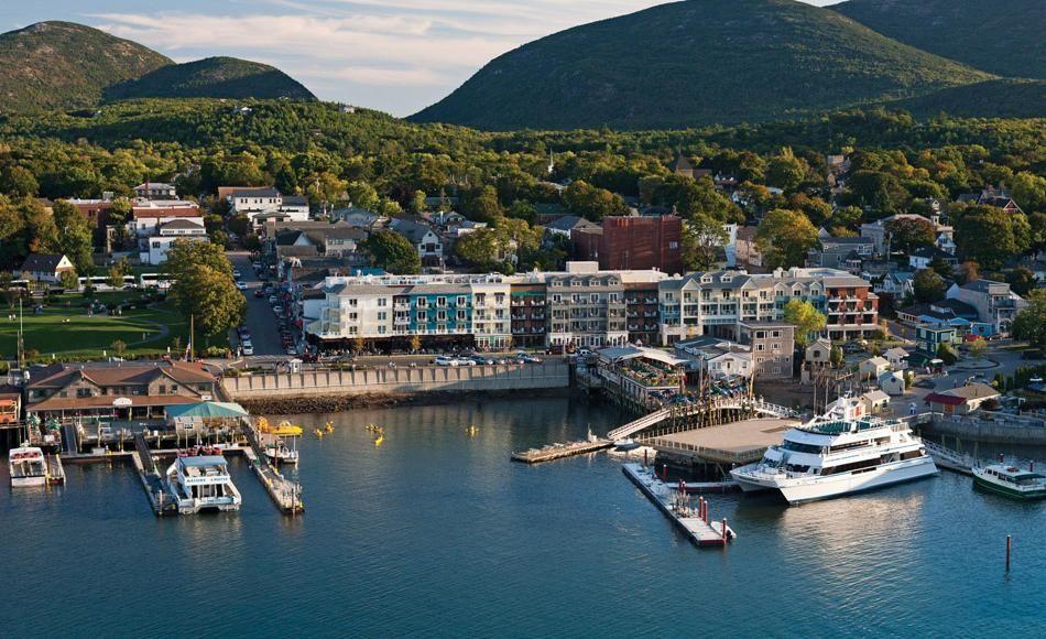 The Harborside Hotel Spa Marina Bar Harbor Maine Beach Hotels