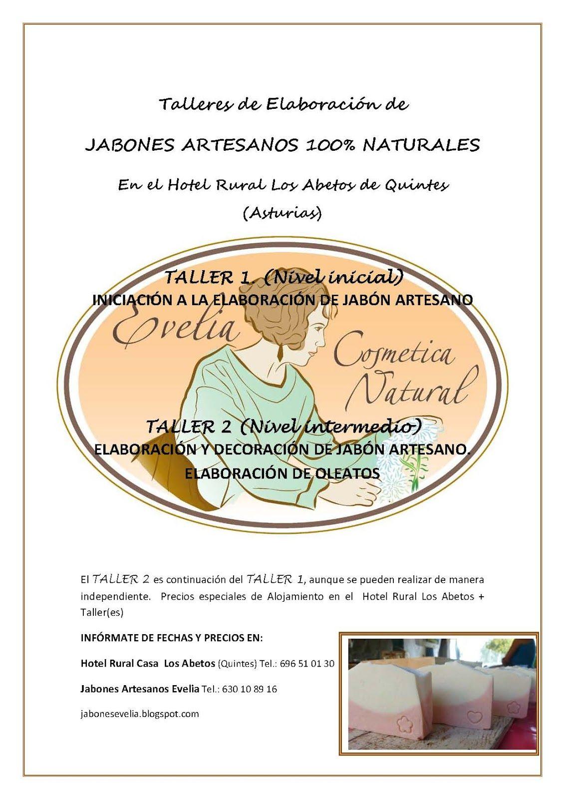 Talleres De Jabon Artesano En Asturias Cosmetica Natural