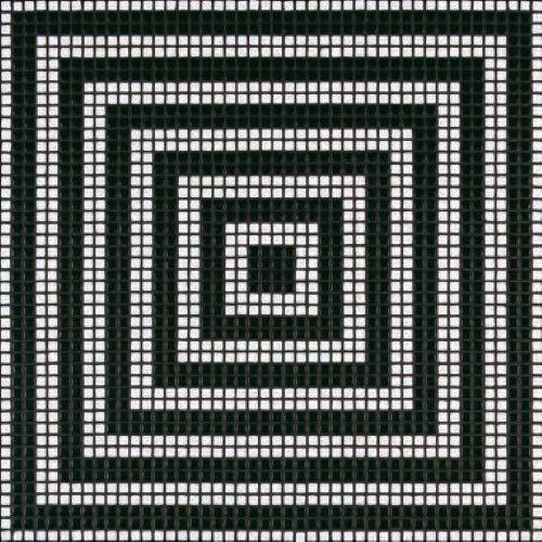 #Bisazza #Decorations Opus Romano Wengé Nero | Feinsteinzeug | im Angebot auf #bad39.de 334 Euro/Pckg. | #Mosaik #Bad #Küche