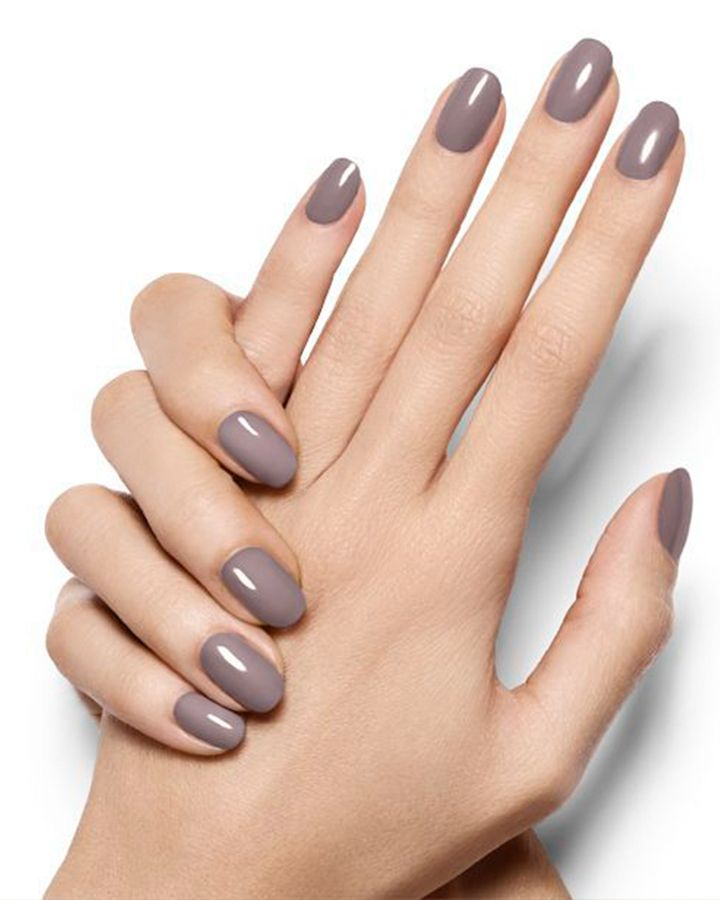 Winter Nail Color - Gray | Winter time, Change and Scarves