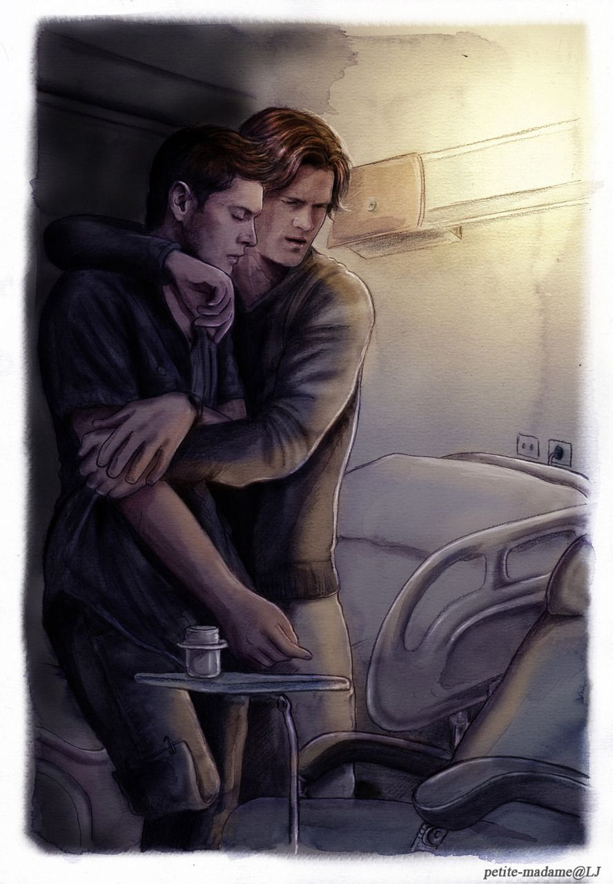 *whimper* This art just breaks my heart...beautiful though ...
