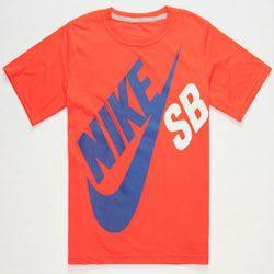 142a750f3 NIKE SB Big Logo Boys T-Shirt | I like | Boys t shirts, Boys, Mens tops