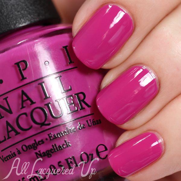 Black Nail Polish Colors: OPI Brights 2015 Swatches & Review