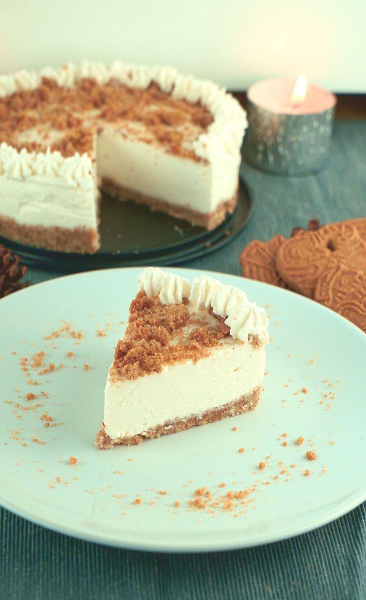 Spekulatius Cheesecake for Christmas - Rezept zum Abnehmen    - Fitness Rezepte - #abnehmen #cheesec...
