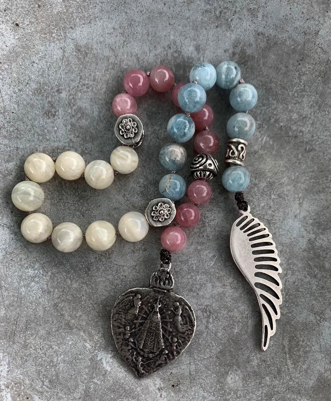 Rooted Woman on Instagram 27 Bead Hand Mala to Activate and Embody Self Compassion  Deep Rooted Woman on Instagram 27 Bead Hand Mala to Activate and Embody Self Compassio...
