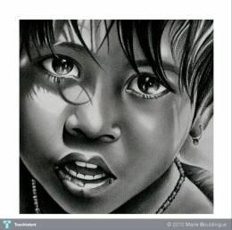 """Kid"" #Creative #Art in #sketching @Touchtalent"