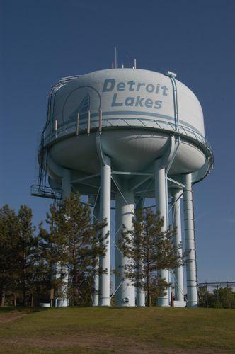 Detroit Lakes MN | Water Tower
