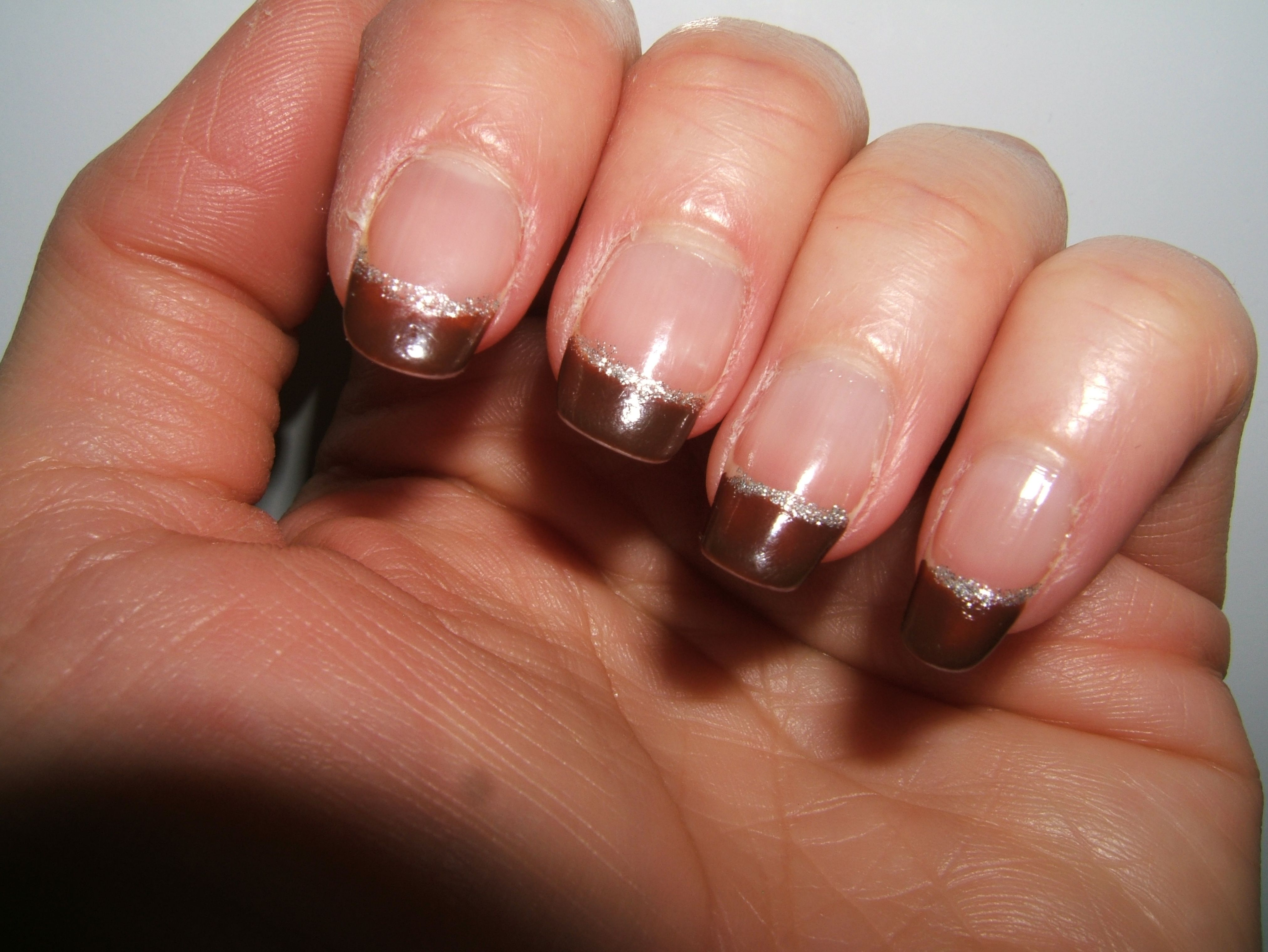 fall 'french manicure'