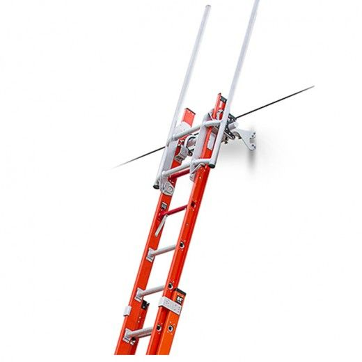 Ledgelock Auto Tie Off System Little Giant Ladders Safety Ladder Construction Tools Ladder