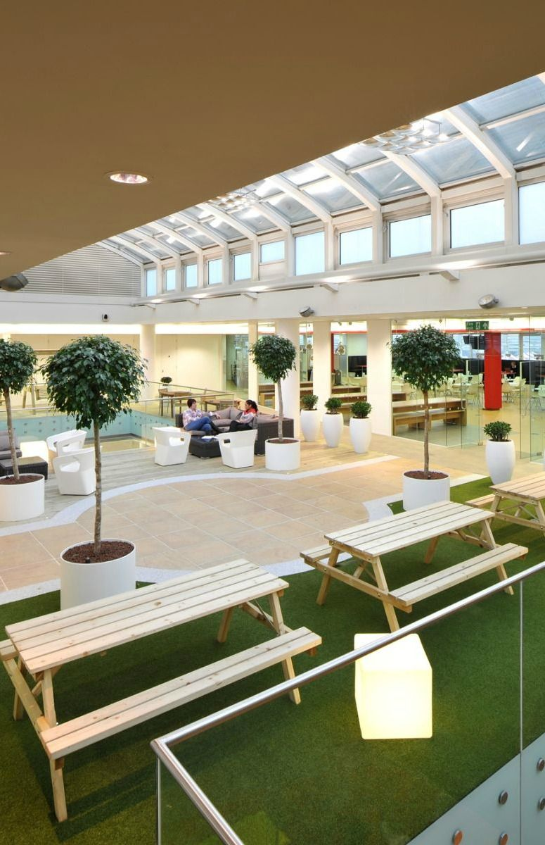 Wonderful 2018 Office Design Trends U003eu003e Natural Finishes And Biophilic Design U003eu003e  Creating A Homely Environment In The Office Will Expand Into Biophilia,  Where Plants ...