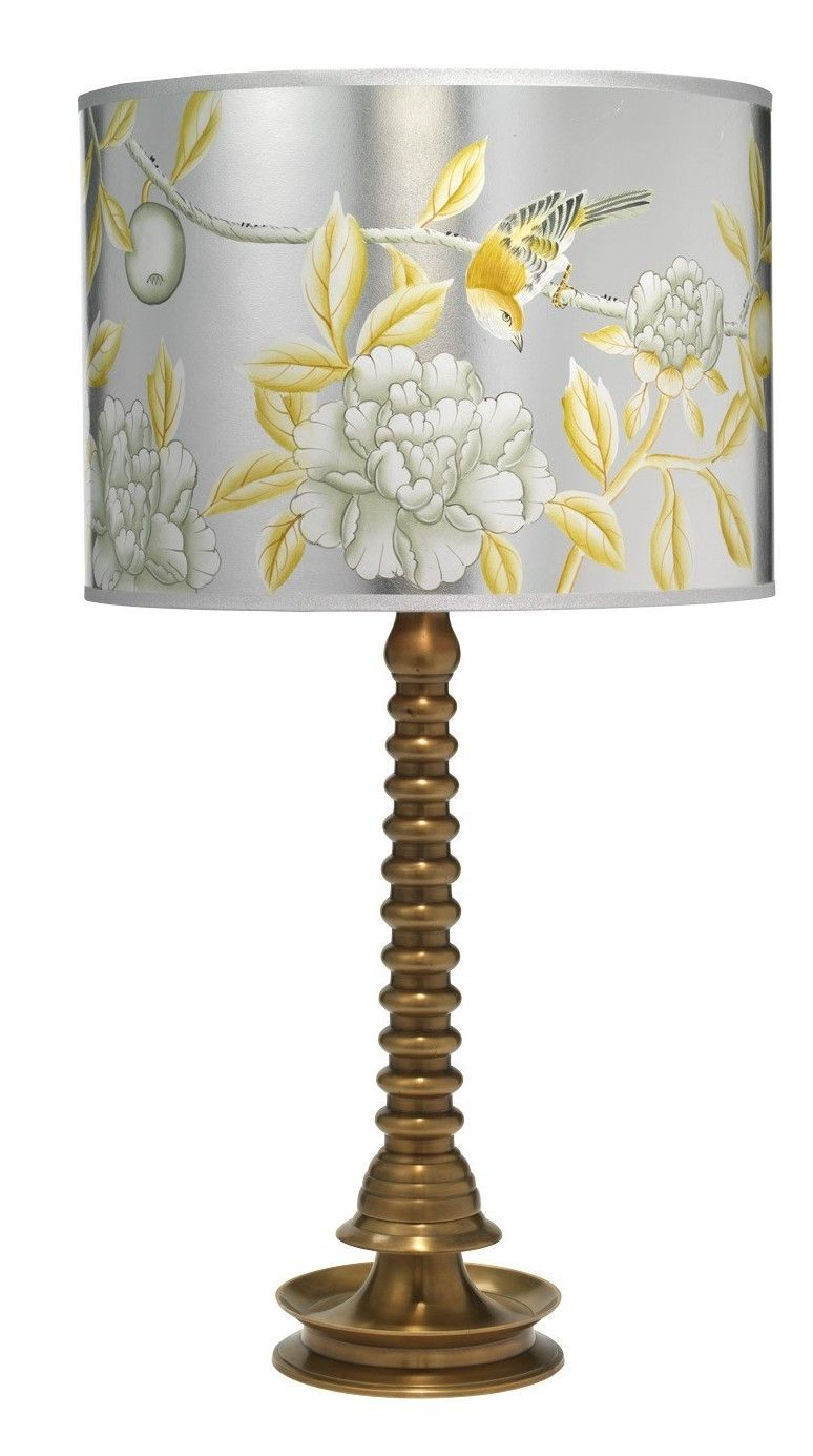 Ghee 30 5 h table lamp with drum shade