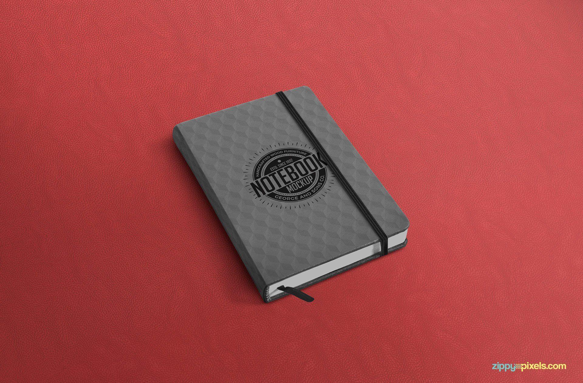 Download Free Notebook Mockup Psd Creativebooster