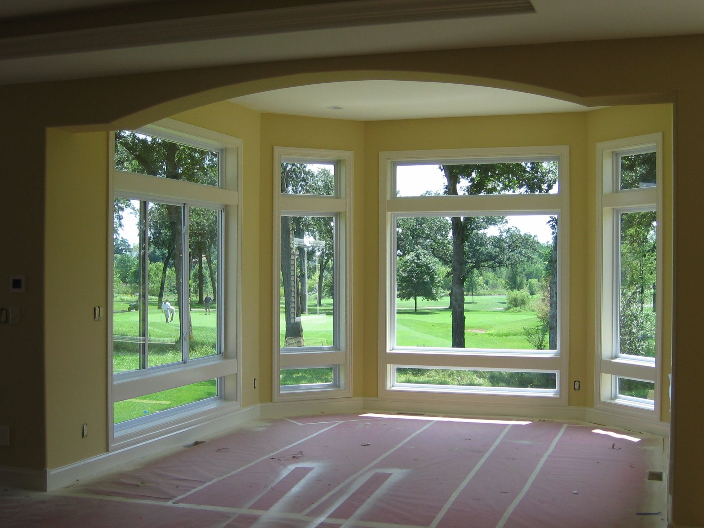 3m S Night Vision 35 Interior View Residential Window Film