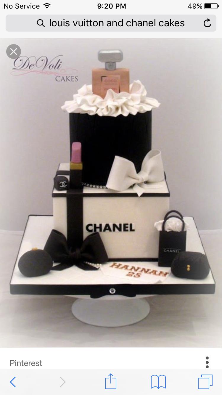 Chanel Torte Bilder