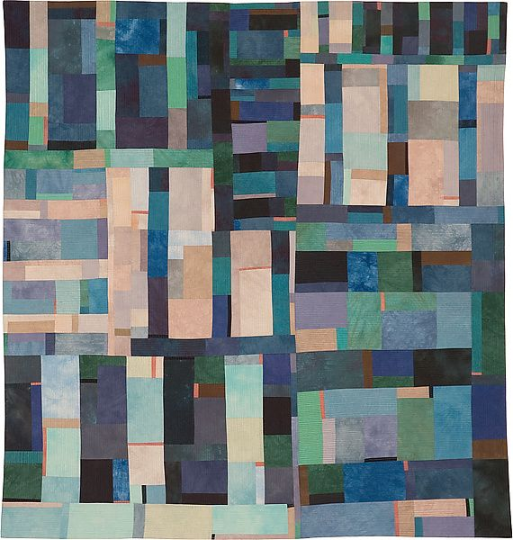 Structures 33: by Lisa Call from the Artful Home website      Dimensions: 49.0in H x 46.0in W