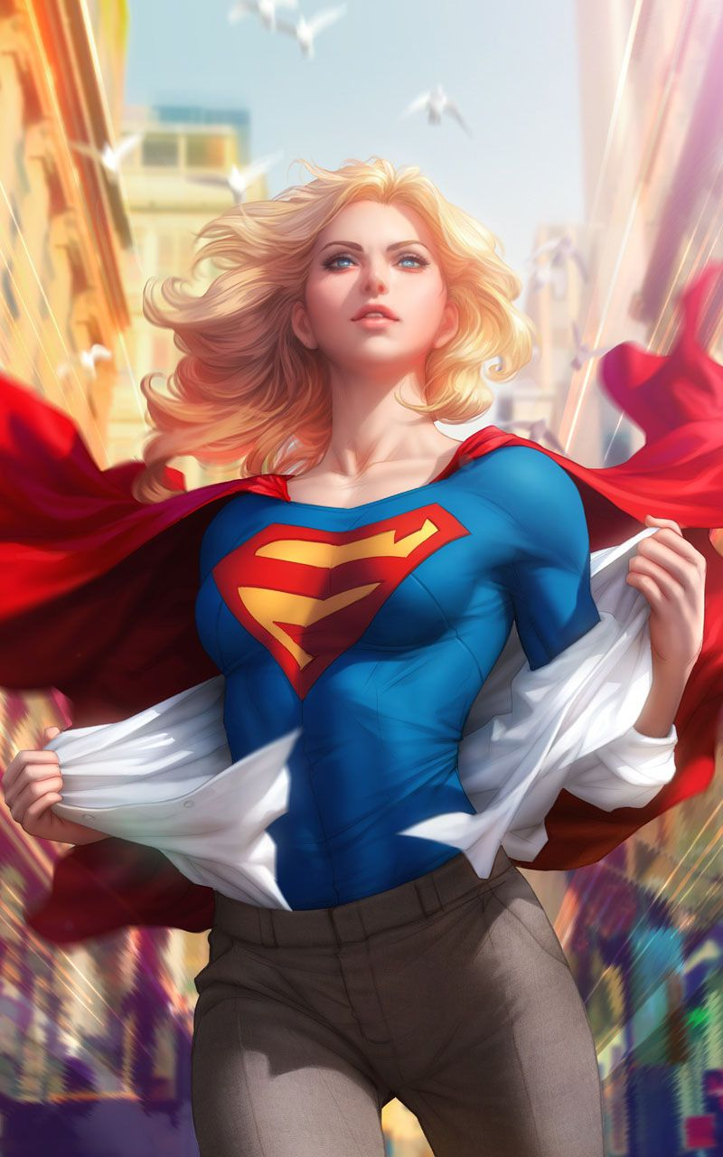 22+ Supergirl Wallpaper Anime Pictures