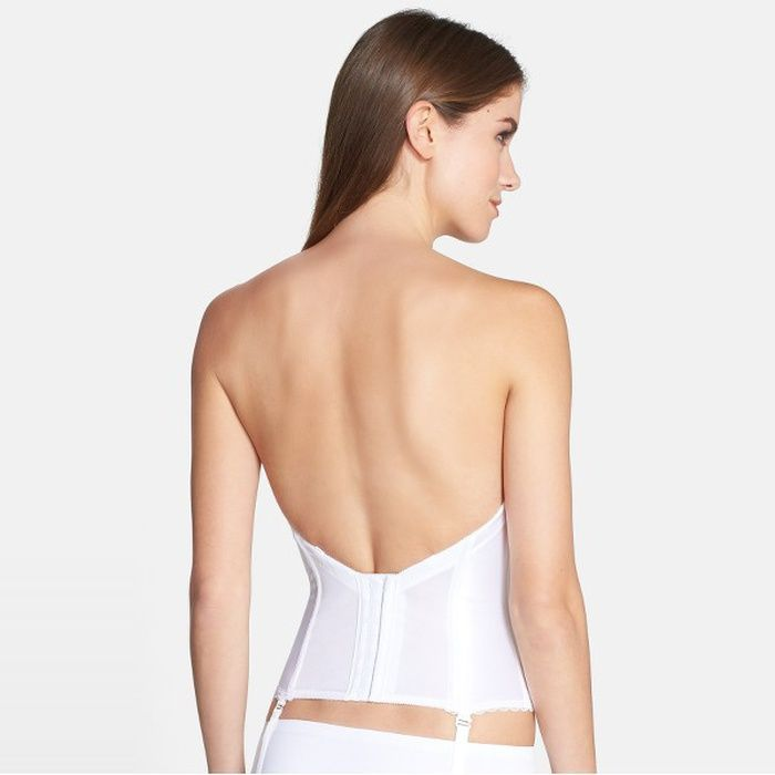 10 Best Va Bien Convertible Low Back Satin Bustier | Convertible ...