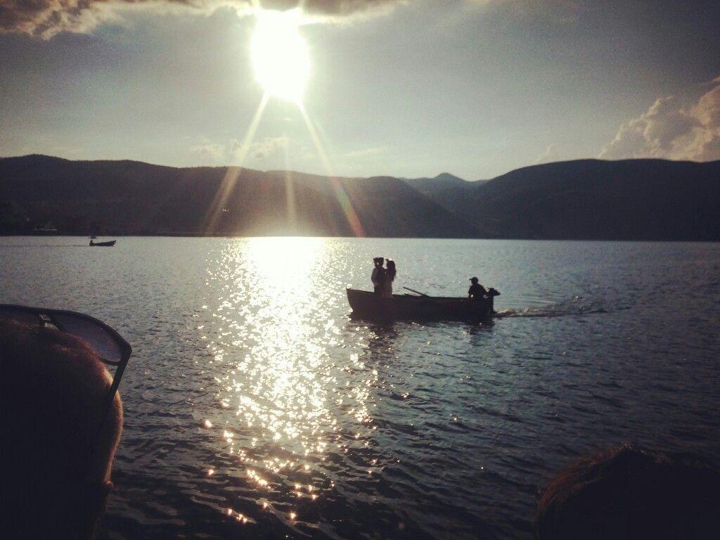 Couple on sunset https://www.etsy.com/listing/462549720/ichthus-fish-minorah-david-star-wood