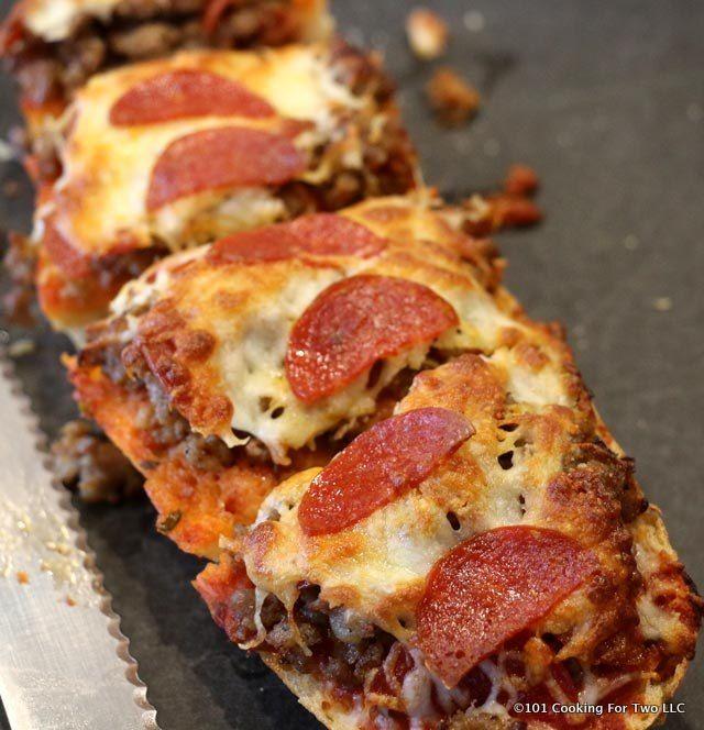 quick french bread pizza